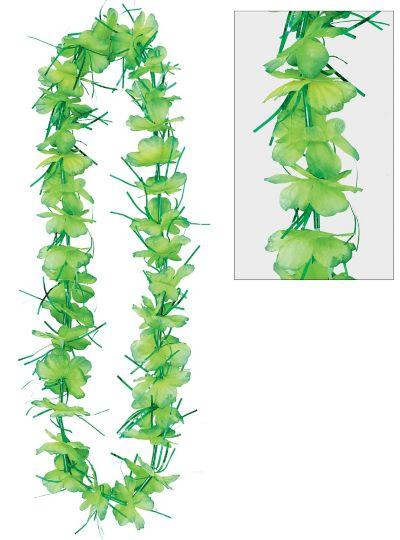 Green Tinsel Lei
