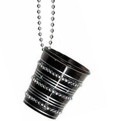 Bling Shot Glass Necklace