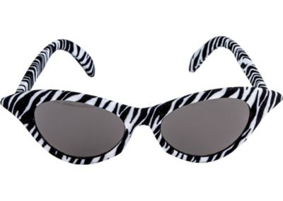 50s Zebra Sunglasses