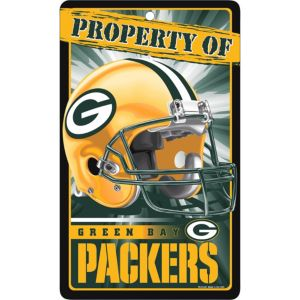Property of Green Bay Packers Sign