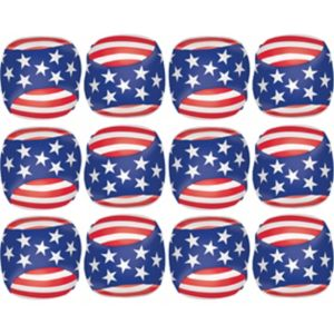 Soft Patriotic Balls 12ct