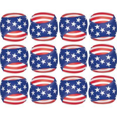 Patriotic Soft Play Balls 12ct