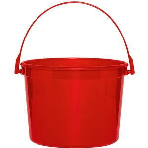Red Favor Container