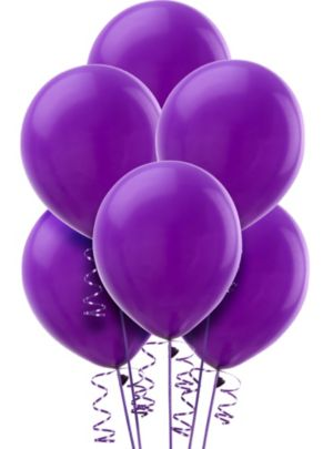 Purple Balloons 15ct
