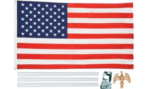 American Flag Pole Kit 4pc