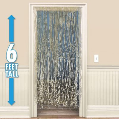 Raffia Door Curtain