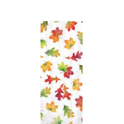 Fall Leaves Party Bags 20ct