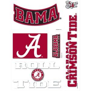 Alabama Crimson Tide Decals 5ct