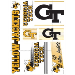 Georgia Tech Yellow Jackets Decals 7ct