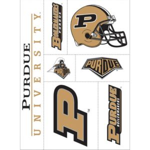 Purdue Boilermakers Decals 7ct