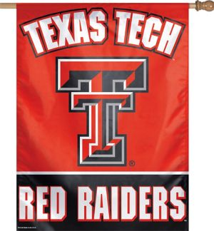 Texas Tech Red Raiders Banner Flag