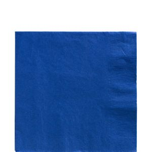 Big Party Pack Royal Blue Lunch Napkins 125ct