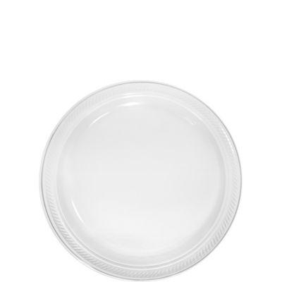 CLEAR Plastic Dessert Plates 50ct