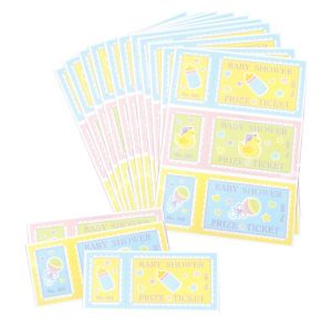 Baby Shower Prize Tickets 48ct