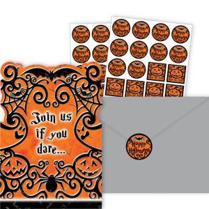Gothic Greetings Halloween Invitations 20ct