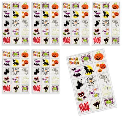 Halloween Fun Tattoos 120ct