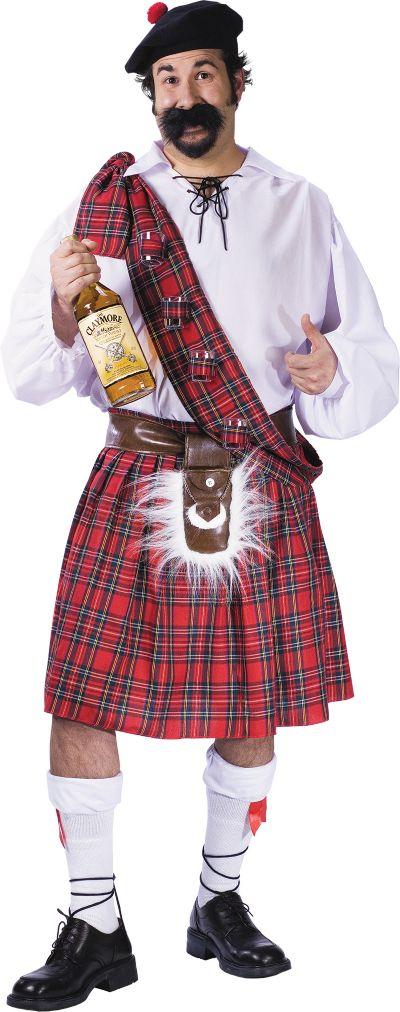 Adult Big Shot Scott Costume