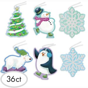 Frosty Gift Tags 36ct