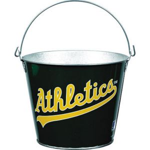 Oakland Athletics Galvanized Bucket