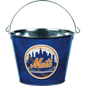 New York Mets Galvanized Bucket