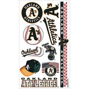 Oakland Athletics Tattoos 10ct
