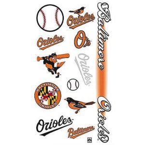 Baltimore Orioles Tattoos 10ct