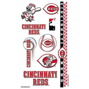 Cincinnati Reds Tattoos 10ct