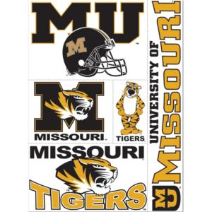Missouri Tigers Decals 5ct