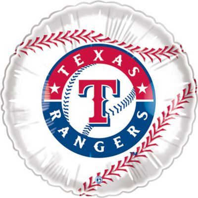 Texas Rangers Balloon 18in