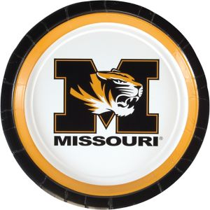 Missouri Tigers Lunch Plates 10ct