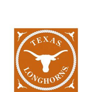 Texas Longhorns Beverage Napkins 24ct