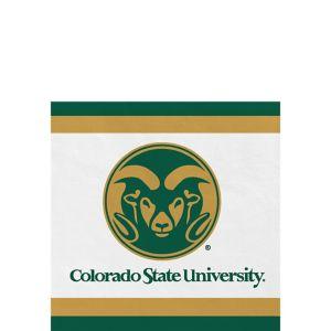 Colorado State Rams Beverage Napkins 24ct