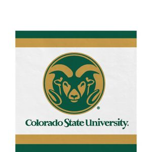 Colorado State Rams Lunch Napkins 20ct