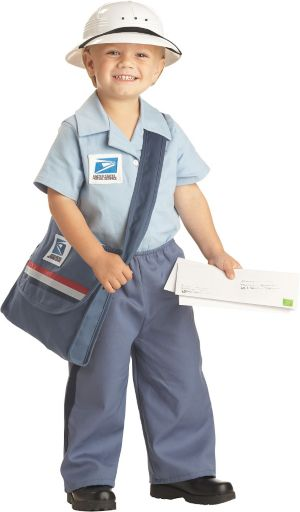 Toddler Boys Mr. Mailman Costume