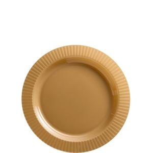 Gold Premium Plastic Dessert Plates 32ct