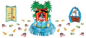 Pirate Party Centerpiece Kit 27pc