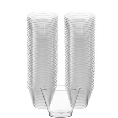 CLEAR Plastic Cups 88ct