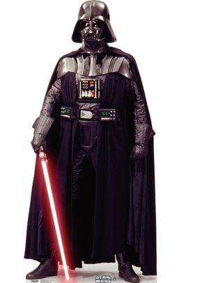 Darth Vader Life Size Cardboard Cutout 75in
