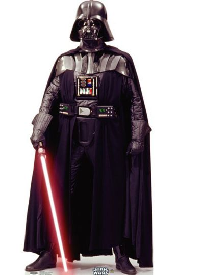 Darth Vader Life Size Cardboard Cutout 75in