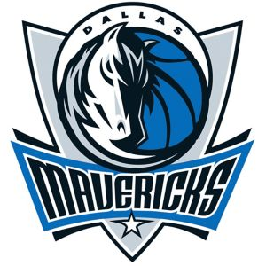 Dallas Mavericks Cling Decal