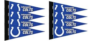 Indianapolis Colts Pennants 8ct