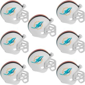 Miami Dolphins Helmets 8ct