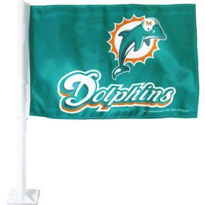 Miami Dolphins Car Flag