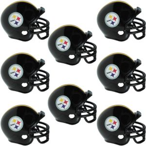 Pittsburgh Steelers Helmets 8ct