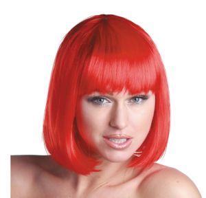 Charm Premium Red Bob Wig