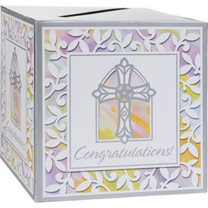 Religious Card Box Holder