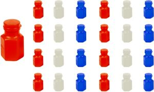 Red, White & Blue Mini Bubbles 24ct