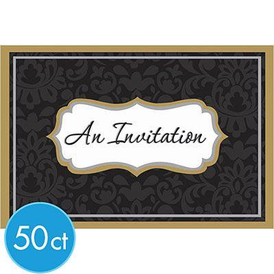 Elegance Invitations 50ct