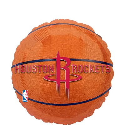 Houston Rockets Balloon - Basketball