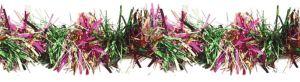 Mardi Gras Pine Needle Tinsel Garland